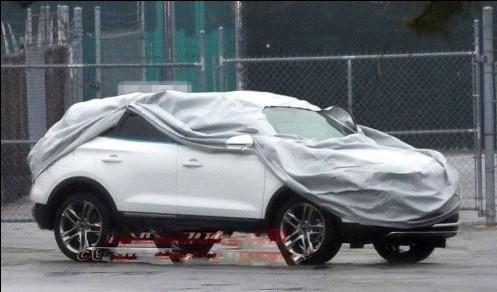林肯MKC量产版车型曝光 有望明年进口高清图片
