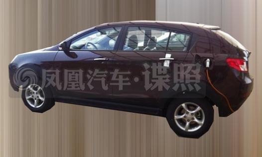 吉利帝豪全新电动SUV谍照-帝豪纯电动SUV谍照 最高车速或200km h高清图片