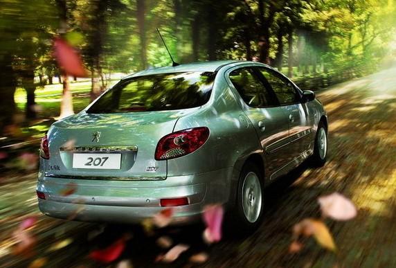 东风标致 207三厢 1.6自动 驭乐版 2010款 价格高清图片