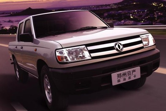 郑州日产 锐骐皮卡 4wd qd80柴油标准型 国ⅲ 2009款 锐高清图片