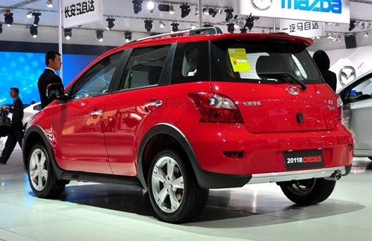炫丽CROSS 1.3L AMT 2011款
